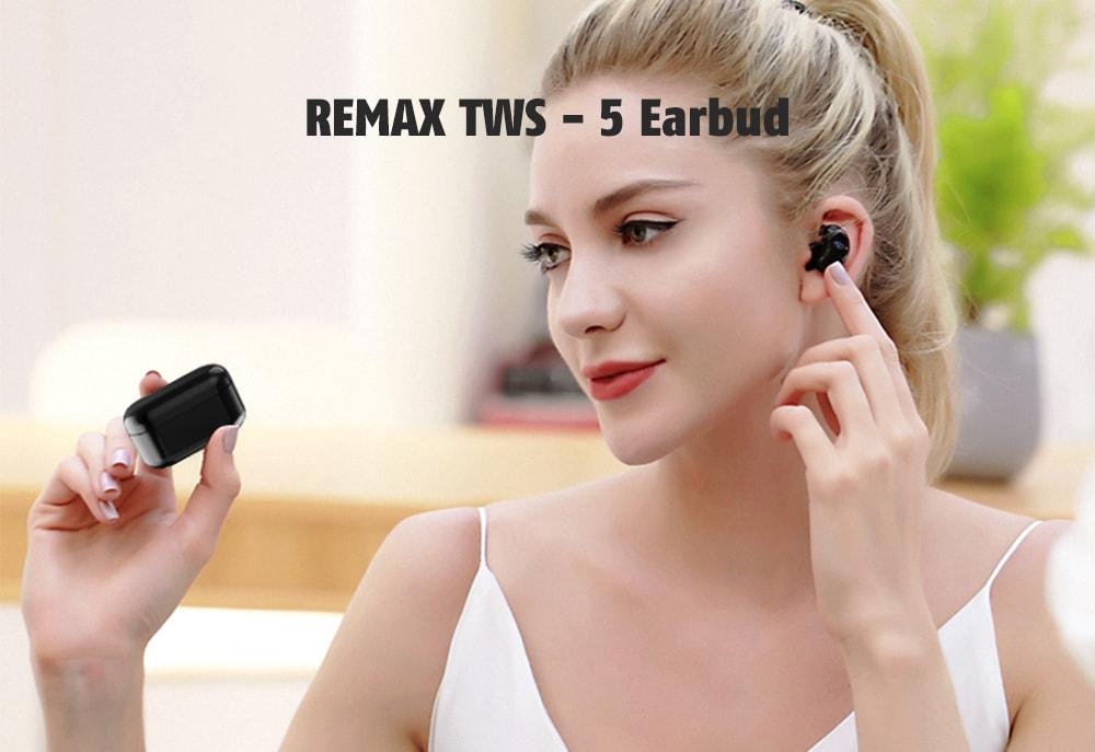 Ασύρματα Bluetooth Ακουστικά Remax TWS-5-1