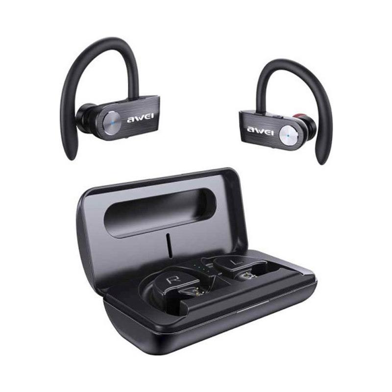 Ασύρματα Bluetooth Ακουστικά Awei T22 Μαύρο