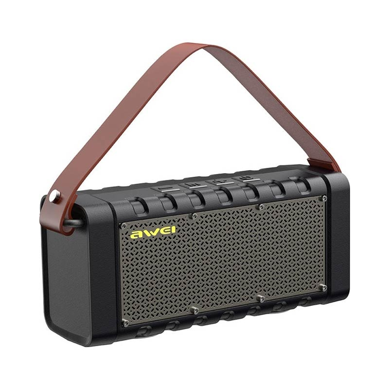 Awei Portable Bluetooth Speaker με Power Βank Y668 2