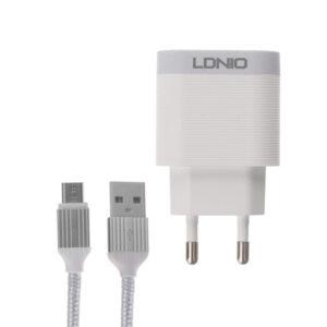 Φορτιστής LDNIO A303Q με Καλώδιο Micro USB