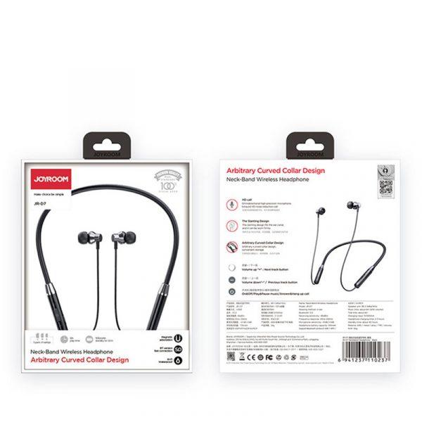 Ασύρματα Αδιάβροχα Bluetooth Ακουστικά Joyroom JR-D7-2