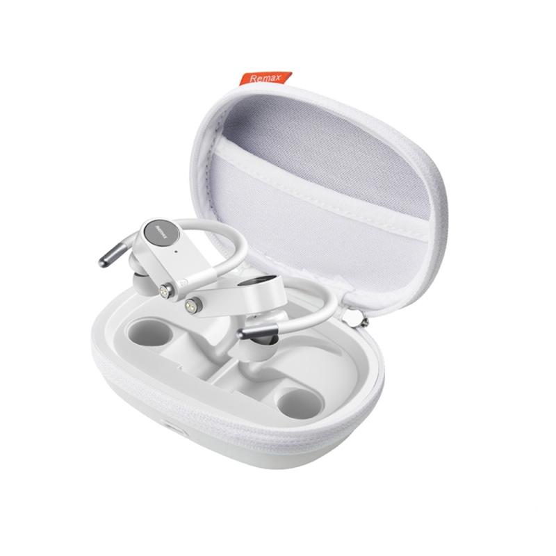 Ασύρματα Bluetooth Ακουστικά Remax TWS-20 άσπρο