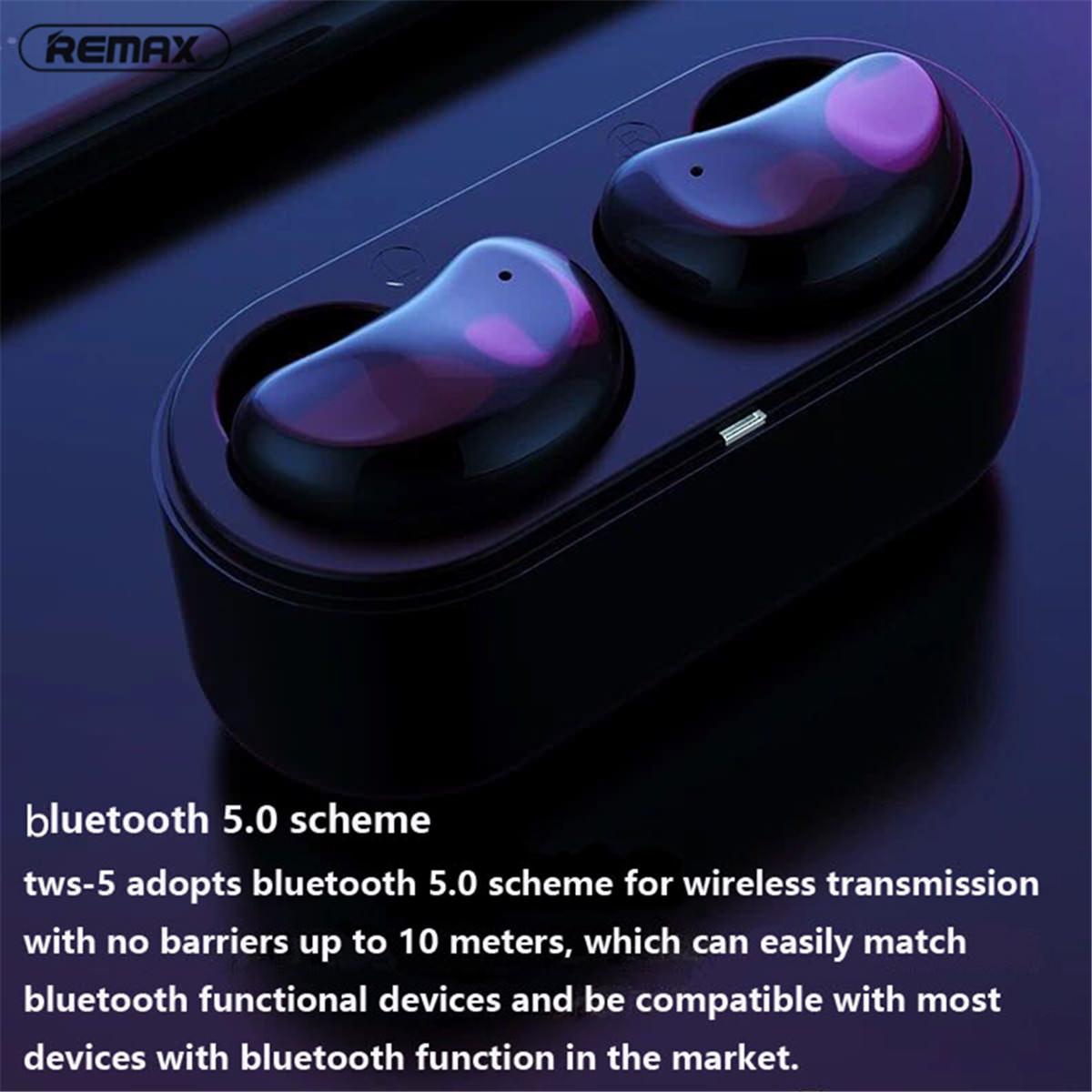 Ασύρματα Bluetooth Ακουστικά Remax TWS-5-2