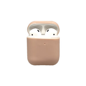 Θήκη Σιλικόνης για Airpods απαλό ροζ