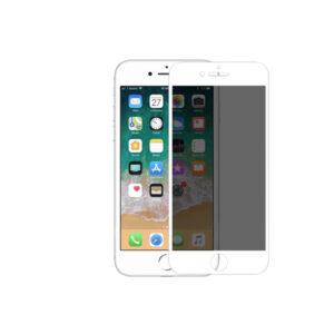 Προστασία οθόνης Privacy Full Face Tempered Glass για iPhone 7 Plus / 8 Plus Άσπρο