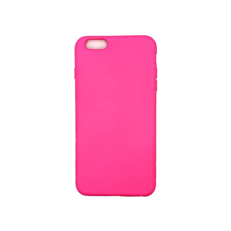 Θήκη iPhone 6 Plus / 6s Plus Silky and Soft Touch Silicone Φούξια 1