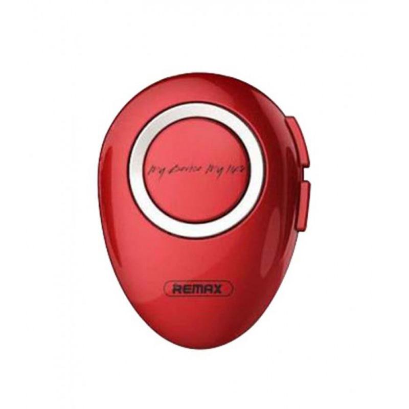 Ασύρματο Bluetooth Headset Ακουστικό Remax RB-T22-Κόκκινο