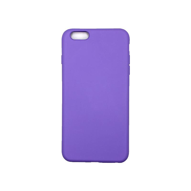 Θήκη iPhone 6 Plus / 6s Plus Silky and Soft Touch Silicone Μωβ 1