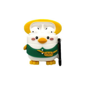Θήκη Σιλικόνης για Airpods Penguin πράσινο 1