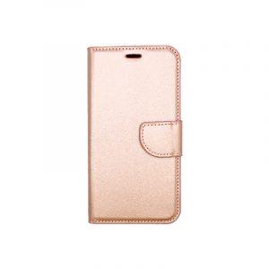 Θήκη Xiaomi Redmi 6 Wallet ροζ χρυσό 1