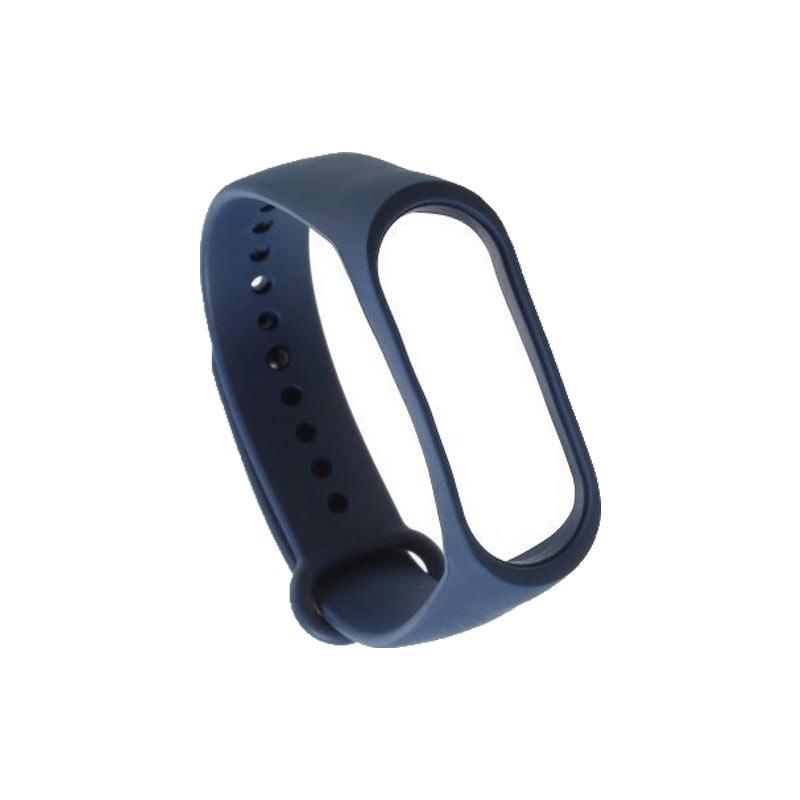 Λουράκι Σιλικόνης για Xiaomi Mi Band 3 / 4 μπλε 1