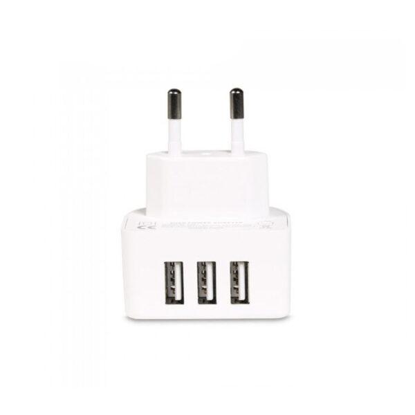 Remax RP-U31 3x USB Wall Adapter Λευκό 2