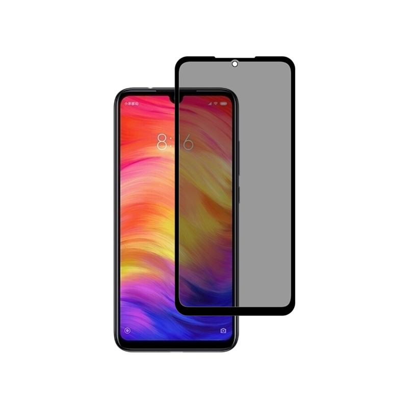 Προστασία οθόνης Privacy Full Face Tempered Glass για Xiaomi Redmi Note 7 / Note 7 Pro