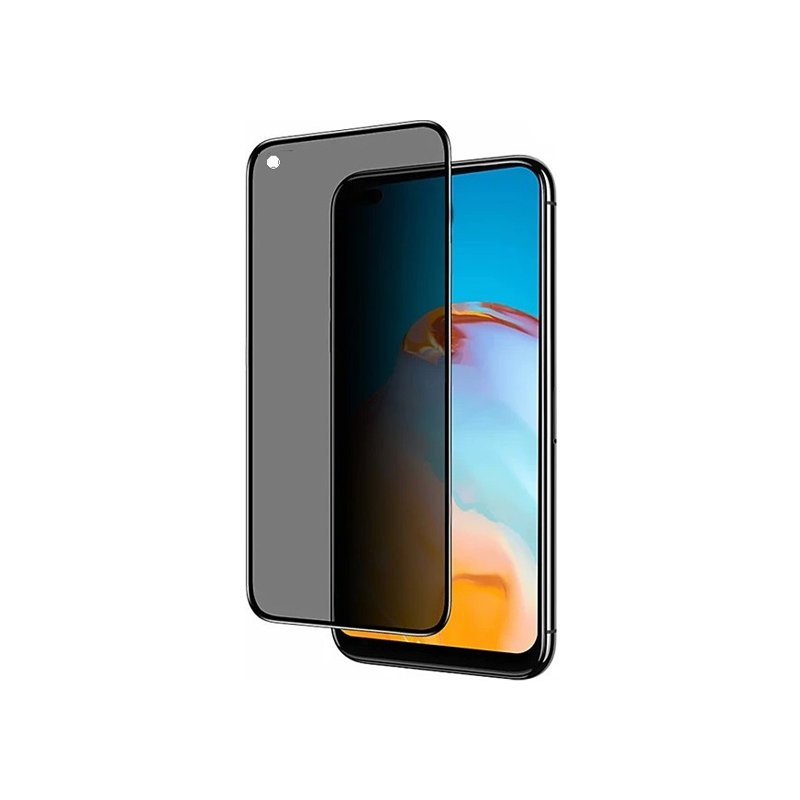 Προστασία οθόνης Privacy Full Face Tempered Glass για Huawei P40 Lite E