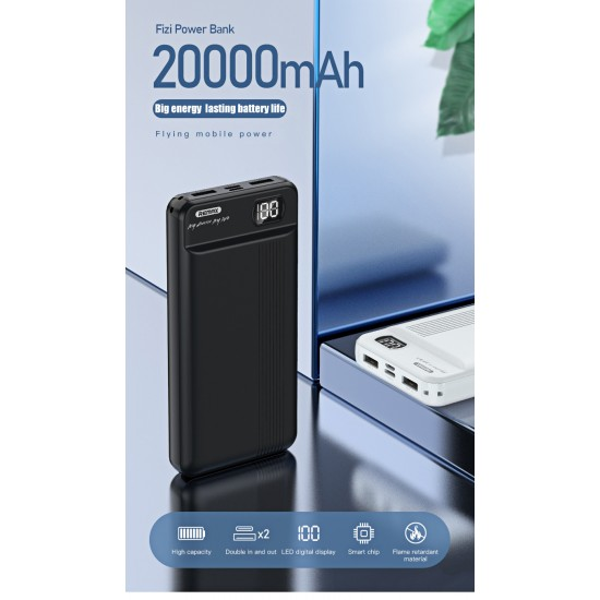 Remax RPP-106 Power Bank 20000mAh 2.1A διαφημιστικό