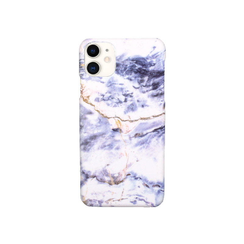 Θήκη iPhone 11 Pro Max Purple-White Marble