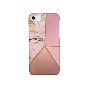 Θήκη iPhone 7 / 8 / SE 2020 Pink Marble Triangles