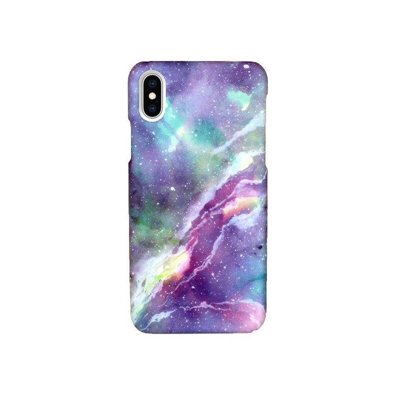 Θήκη iPhone X / XS Purple Marble