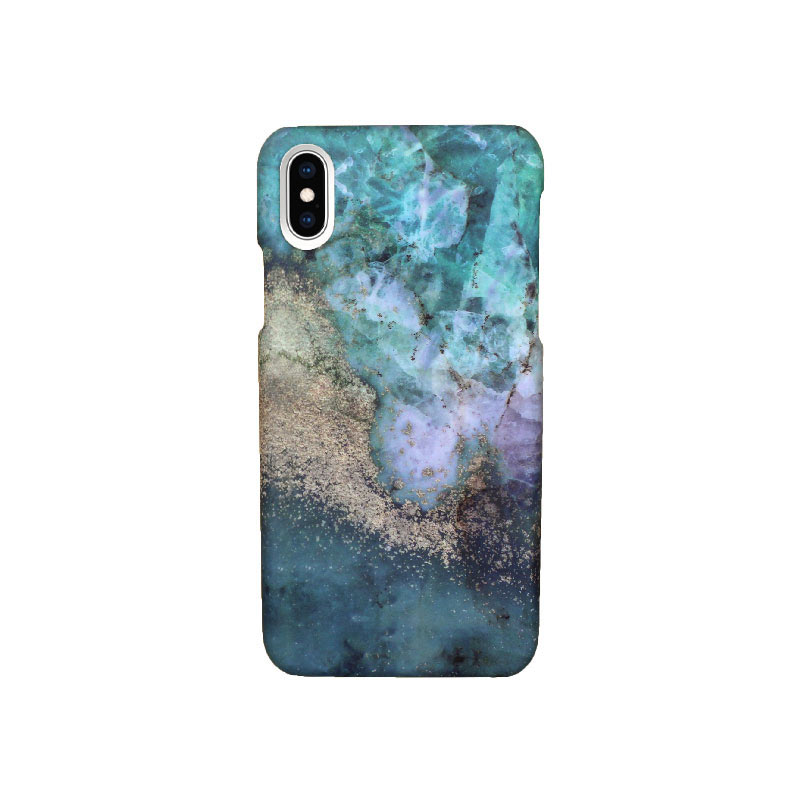 Θήκη iPhone X / XS Multicolor Marble