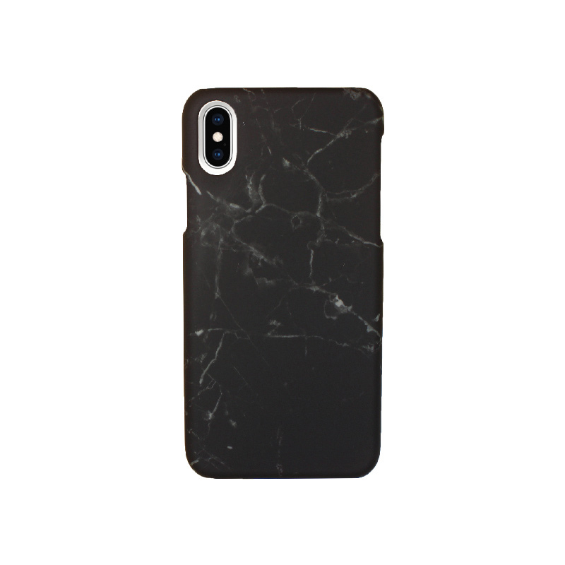 Θήκη iPhone X / XS Black Marble