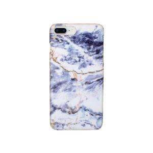 Θήκη iPhone 7 Plus / 8 Plus Purple-White Marble