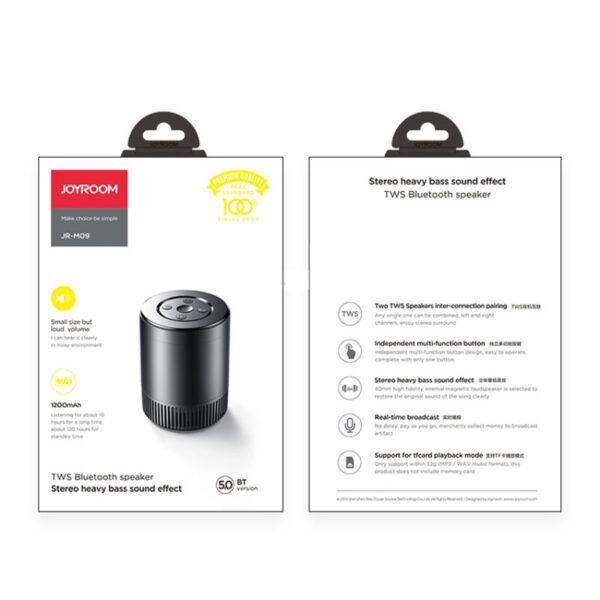 Joyroom JR-M09 TWS Mini Bluetooth Speaker 2