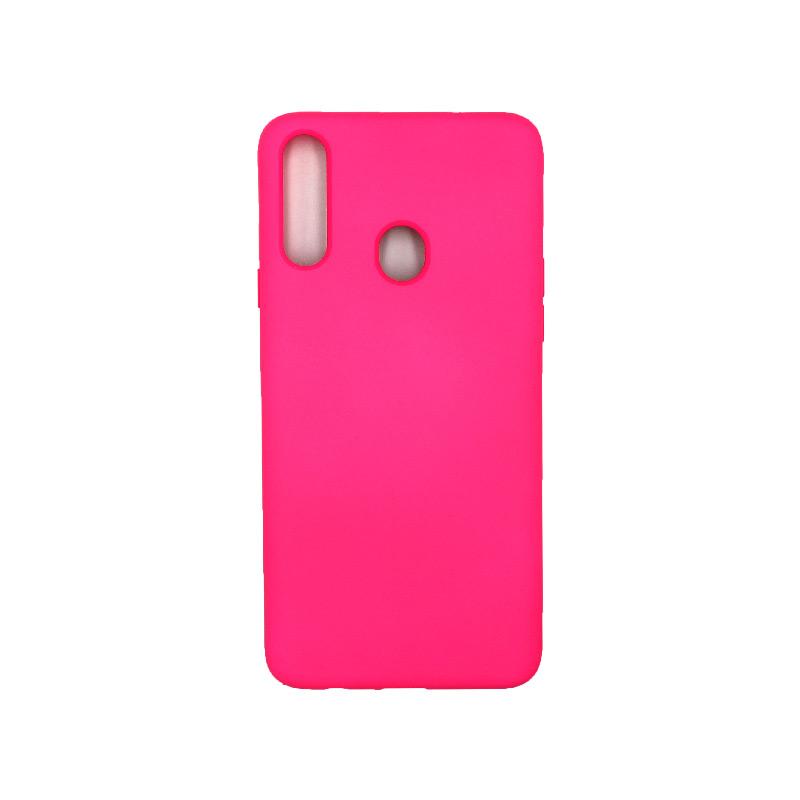 Θήκη Samsung Galaxy A2s Silky and Soft Touch Silicone φούξια 1