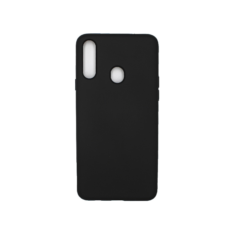 Θήκη Samsung Galaxy A21s Silky and Soft Touch Silicone μάυρο 1