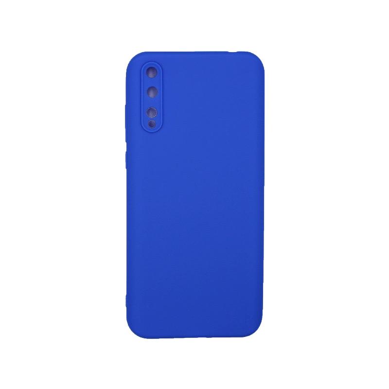 Θήκη Huawei P Smart S Σιλικόνη μπλε