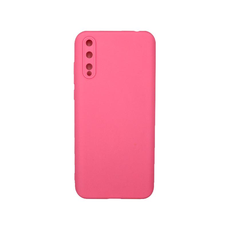 Θήκη Huawei P Smart S Σιλικόνη ροζ