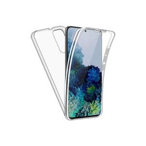 Θήκη 360 Full Cover Σιλικόνης Διάφανο Samsung Galaxy S20