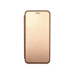 Θήκη Xiaomi Poco X3 Book ροζ χρυσό 1