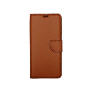 Θήκη Samsung Galaxy A21 Wallet Καφέ 1