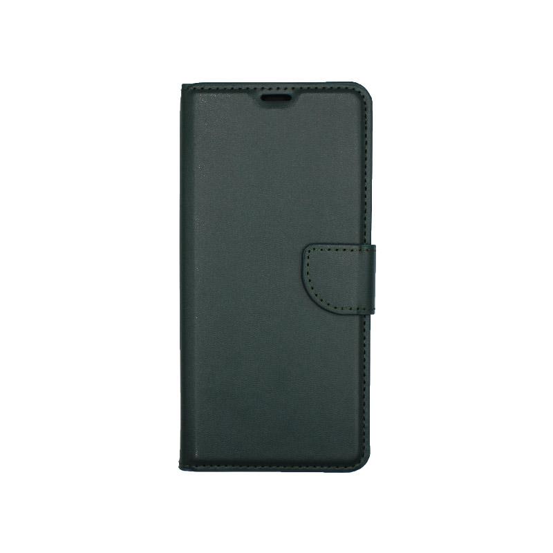 Θήκη Samsung Galaxy A21 Wallet Πράσινο 1
