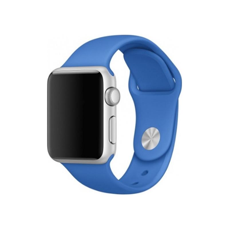 Λουράκι Σιλικόνης για Applewatch 38 / 40 mm Μπλε