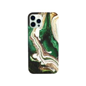 Θήκη iPhone 12 Pro Max Dark Green Marble