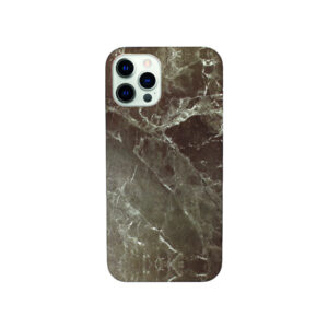 Θήκη iPhone 12 Pro Max Dark Grey Marble