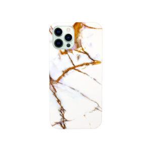 Θήκη iPhone 12 Pro Max Caramel Marble