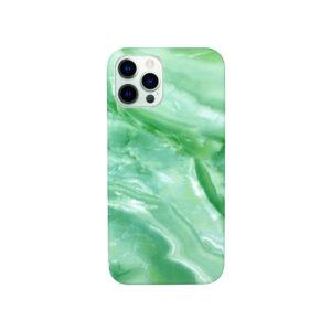 Θήκη iPhone 12 Pro Max Light Green Marble
