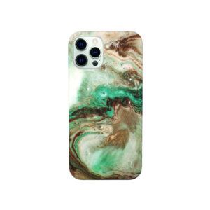 Θήκη iPhone 12 Pro Max Green Marble