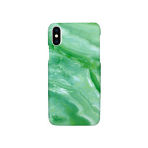 Θήκη iPhone X / XS Light Green Marble