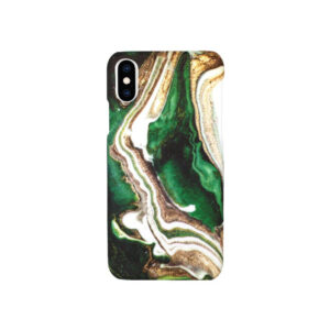 Θήκη iPhone XS Max Dark Green Marble