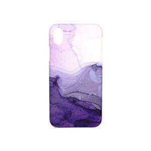 Θήκη iPhone XR Ombre Purple Marble