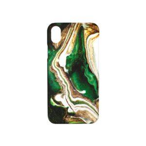 Θήκη iPhone XR Dark Green Marble