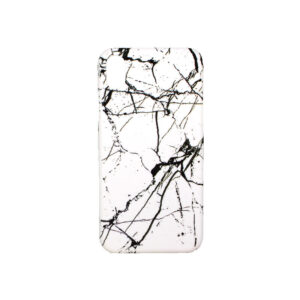 Θήκη iPhone XR Black-White Marble