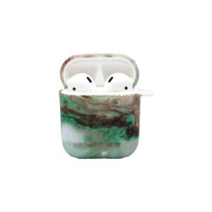 Θήκη Airpods Green Marble