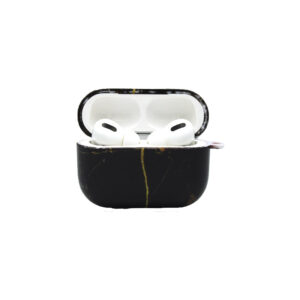Θήκη Airpods Pro / Remax Airplus Pro Black-Yellow Marble