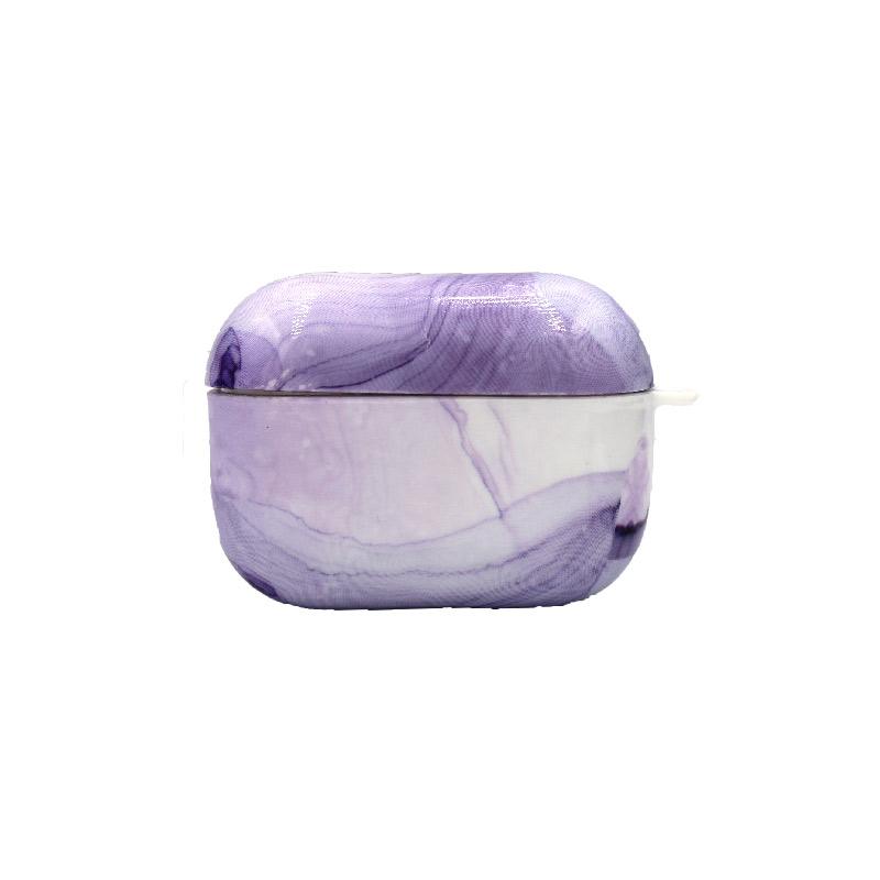 Θήκη Airpods Pro Ombre Purple Marble - 1