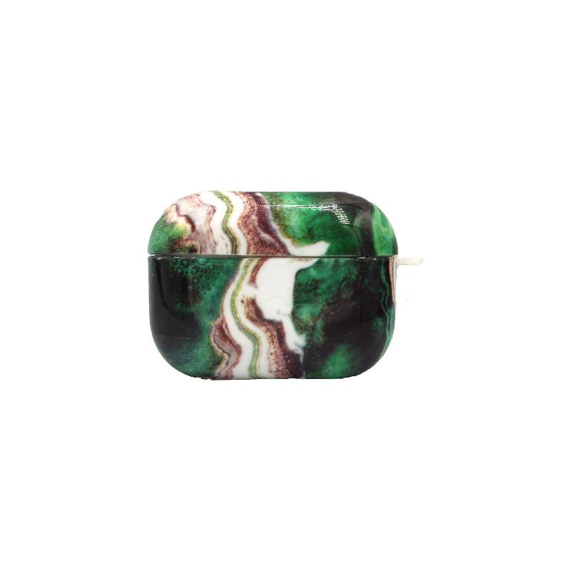 Θήκη Airpods Pro Dark Green Marble - 1