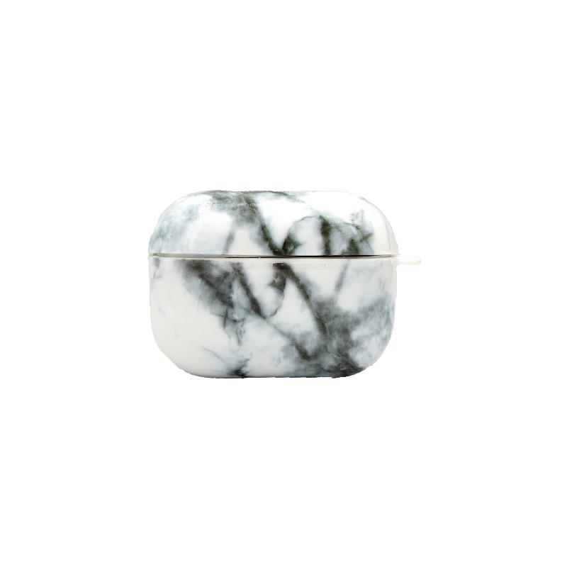 Θήκη Airpods Pro Black-White Marble - 1